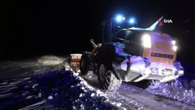 solunum cihazi -  Ekipler karda mahsur kalan KOAH hastası Sabri amca için zamanla yarıştı