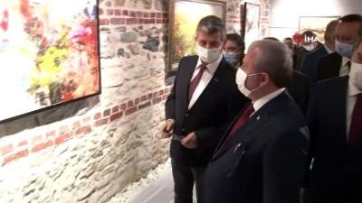TBMM Başkanı Şentop, 'Mebus ve Şair: Mehmet Akif Ersoy' sergisinin açılışına katıldı