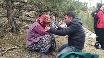 Karaman'da 2 gündür kayıp olan kadın mağarada bulundu