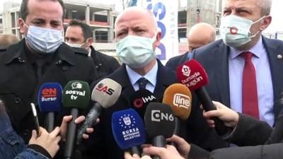 metro istasyonu -  Bursa'nın kalbindeki sağlık üssü hızla yükseliyor