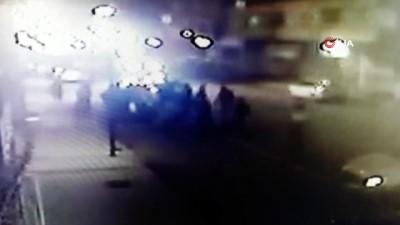 Reyhanlı'da trafik kazası kamerada
