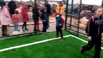 futbol maci -  Şanlıurfalı Zekiye'nin şık golünü Bakan Kasapoğlu alkışladı