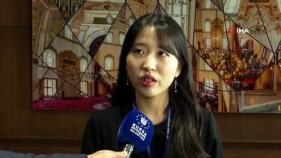 isbirligi protokolu -  Büyükşehir'in Koreli stajyerleri iki ülke arasında turizm elçisi olacak