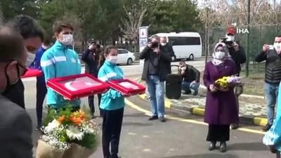 milli atletler -  Çanakkale'den Ankara'ya giden 'Kutsal Emanetler' Eskişehir'de el değiştirdi
