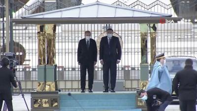 resmi toren -  Cumhurbaşkanı Erdoğan, Bosna Hersek Devlet Başkanlığı Konseyi Başkanı  Dodik'i resmi törenle karşıladı