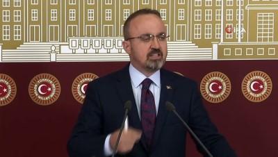 """AK Parti Grup Başkanvekili Bülent Turan: - """"Meclis Başkanının okutmuş olduğu karar Anayasa ve içtüzüğün gereği, mahkemenin verdiği kararın okunmalıdır."""