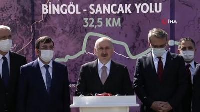 """bakis acisi -  Bakan Karaismailoğlu: """"Bölünmüş yol uzunluğumuzu 28 bin 200 kilometrenin üzerine çıkardık"""""""