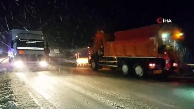 Bayburt ve Erzincan'ın yüksek kesimlerinde ulaşıma kar ve tipi engeli