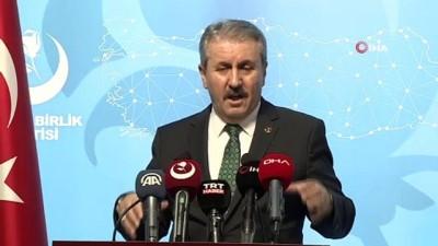 """BBP Genel Başkanı Destici: """"Kılıçdaroğlu, ittifak ortağı HDP'yi üzmemek adına Andımızı savunamadı"""""""