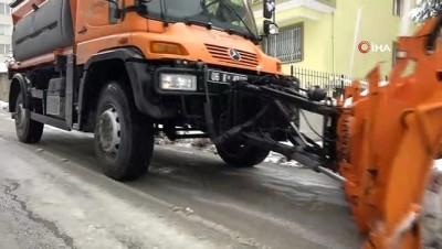 kar temizleme -  Çankaya'da kar seferberliği