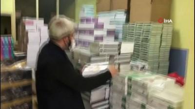 yabanci dil -  İstanbul'da korsan kitap operasyonu