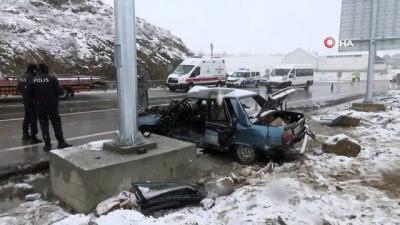 Sorgun'da iki farklı trafik kazası: 1 ölü, 5'i öğretmen 6 yaralı