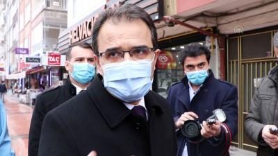 ÇANKIRI - Vali Ayaz kentte koronavirüs vakalarının arttığını açıkladı