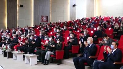 HATAY - 18 Mart Şehitleri Anma Günü ve Çanakkale Deniz Zaferi'nin 106. yıl dönümü