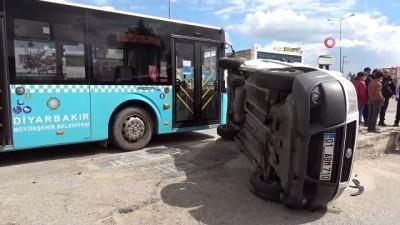kural ihlali -  Kural ihlali yapıp cep yola girmek istedi, 5 kişinin yaralanmasına neden oldu
