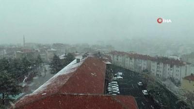 Nevşehir'de kar ve sis etkili oluyor