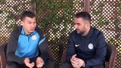 RİZE - Çaykur Rizespor'un en fazla forma giyen yabancı futbolcusu Samudio, Rize'de çok mutlu
