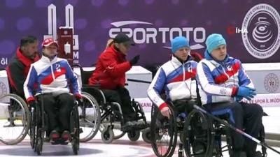 tekerlekli sandalye - Türkiye ve Rusya milli takımları Erzurum'da ortak kamp yapıyor