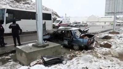 Yozgat'ta 2 trafik kazasında 1 kişi öldü, 6 kişi yaralandı