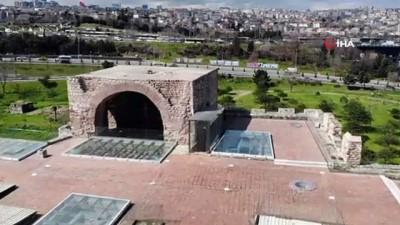 saraylar -  Anemas Zindanları'ndaki Bizans kalıntıları böyle görüntülendi