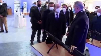 ANKARA - Milli Savunma Bakanı Akar'dan, MKEK Barutsan Roket ve Patlayıcı Fabrikasına ziyaret