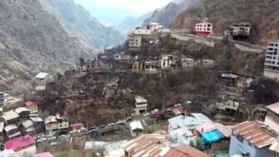 ARTVİN - Bakanlar Soylu ve Kurum, Dereiçi köyünde incelemelerde bulundu