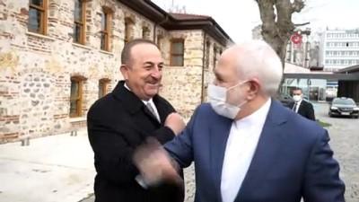 iran -  Dışişleri Bakan Çavuşoğlu, İranlı mevkidaşı Zarif ile görüştü