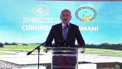 MERSİN - Bakan Karaismailoğlu: '(Çukurova Havalimanı) Birinci etabı 2022'de tamamlayarak hizmete açacağız'