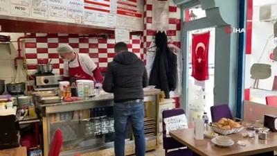 Niğde'de bir lokantacı 'askıda çorba' uygulaması başlattı