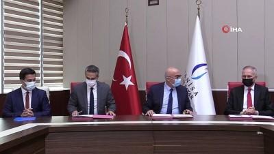 imza toreni -  'Yunus Emre Kitap Kumbarası' projesi protokolü imzalandı
