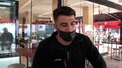 Antalya'da kafe restoranlar yüzde 50 kapasiteli hizmete başladı