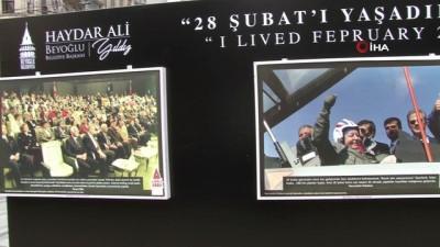 basbakan -  Beyoğlu Belediyesi'nden 28 Şubat sergisi