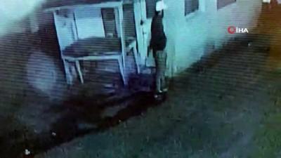 Denetimli serbestlikten tahliye edildi polise ateş ettiği anlar kameraya yansıdı