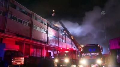 sanayi sitesi - İSTANBUL - Sultangazi'de iş yerinde çıkan yangın söndürüldü