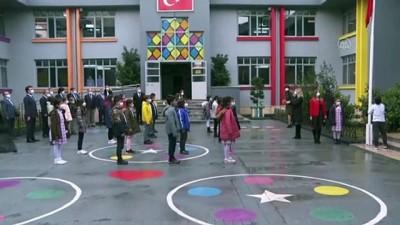 koronavirus - İSTANBUL - Yeni normalleşme süreciyle okullarda yüz yüze eğitime başlandı