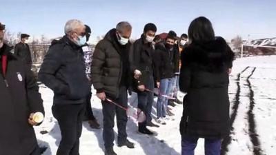 KARS - Doğu Anadolu'daki köylüleri badminton heyecanı sardı