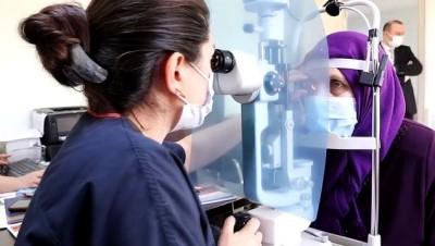 KOCAELİ - Göz ağrısından şikayet eden hastaya kornea nakli yapıldı