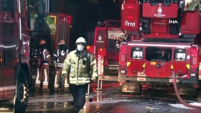 sanayi sitesi -  Sultangazi'de sanayi sitesinde yangın paniği