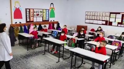 koronavirus - TEKİRDAĞ - Trakya'da yeni normalleşme süreciyle okullarda yüz yüze eğitime başlandı