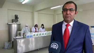 koronavirus - VAN - Dezenfektan üreten meslek lisesi bir yılda 2 milyon lira ciroya ulaştı