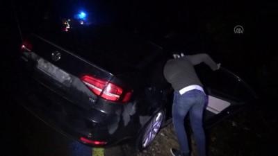BARTIN - Bir otomobilin uçuruma devrildiği kazada 2 kişi yaralandı
