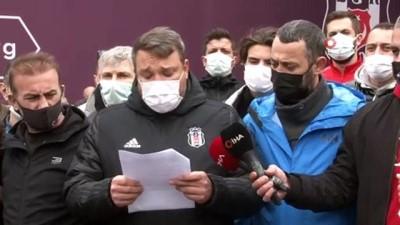 Beşiktaş taraftarından TBF'ye tepki: 'Evlatlarımızın hakkını yedirmeyiz'