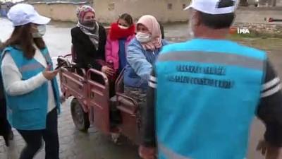 Kırmızı kategorideki Aksaray'da ziraatçılar köylerde denetim yapıyor