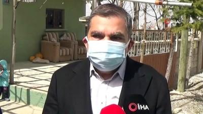 Karaman'da korana virüs seferberliği... Vali kapı kapı dolaşıp vatandaşları uyardı
