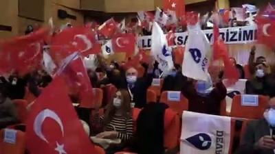milletvekili - AKSARAY - DEVA Partisi Genel Başkanı Babacan, partisinin Aksaray Merkez İlçe 1. Olağan Kongresi'ne katıldı