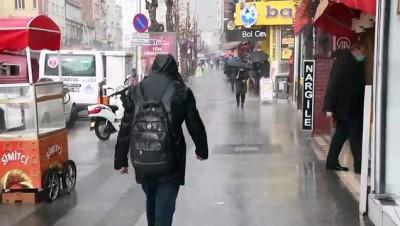 ÇORUM - Şiddetli yağış etkili oldu