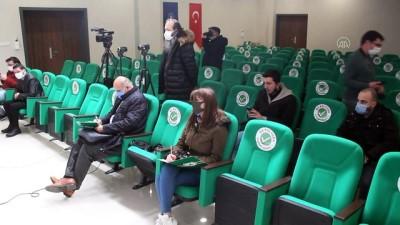 GİRESUN - Giresunspor Basın Sözcüsü Karademir: 'Taşlı saldırıyı Samsunspor camiasına yıkmayalım'