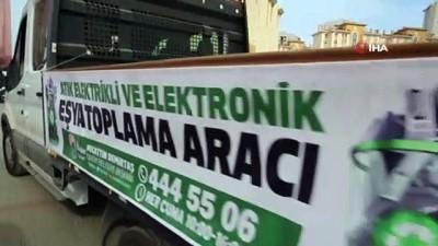 - İlkadım'dan elektronik atıkları geri dönüşüme kazandıracak proje