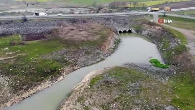 beykoy -  İstanbul'da 3 barajın doluluk oranı yüzde 50'nin altında kaldı