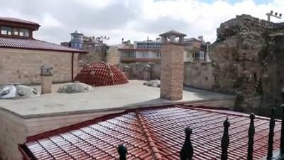 KARAMAN - Restorasyonunda sona yaklaşılan 600 yıllık 'Hatun Hamamı' mayısta yeniden kapılarını açacak